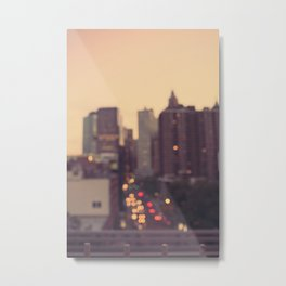 Urban Gold Metal Print
