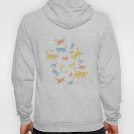 Watercolor Cats - Cats Everywhere! Hoody