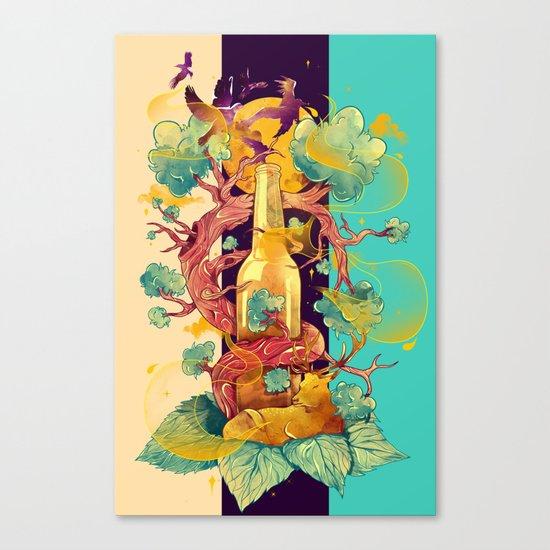 Natural Cycle Canvas Print
