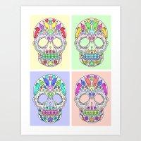 Sugar Skulls Art Print