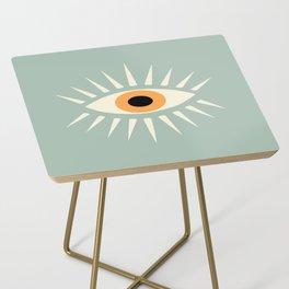 Yellow Eye Side Table