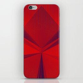 Geometric sexy art iPhone Skin