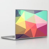 channel Laptop & iPad Skins featuring peace by contemporary