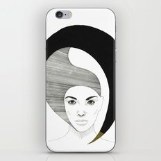 Fashion Illustration 4  iPhone & iPod Skin