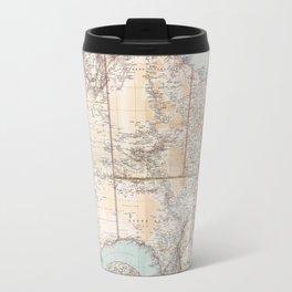 Australian Topography Map (1911) Travel Mug