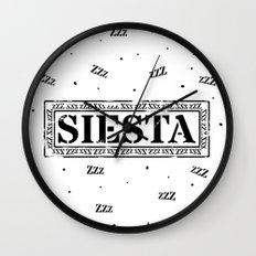 SIESTA nº 2 Wall Clock
