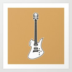 B.C. Rich Mockingbird Art Print