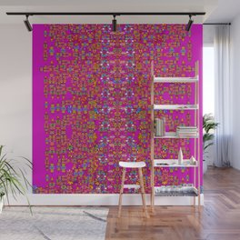 lianas of excotic in florals decorative tropical paradise style Wall Mural