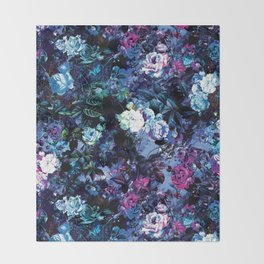 RPE FLORAL X Throw Blanket