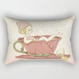 Tea Bath Rectangular Pillow