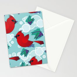 Cardinal Song Stationery Cards