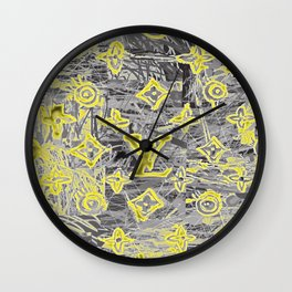 LV NEONIZED Wall Clock