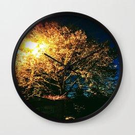 A moment at sunrise Wall Clock