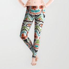 Ethnic tribal ornament 5 Leggings