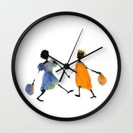 Alika & Zeila Wall Clock