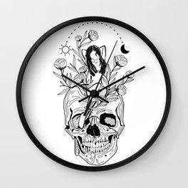 Evolve illustration Wall Clock