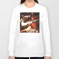nike Long Sleeve T-shirts featuring Fight Nike by CHESSOrdinary