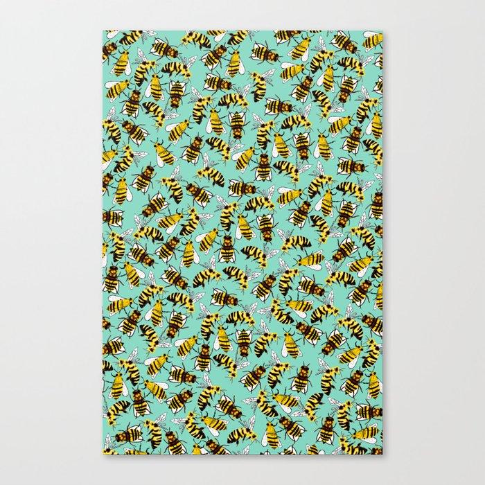 Morgan's Bees Canvas Print