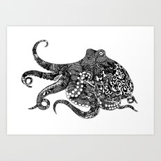 Cephalopod Dreams Art Print