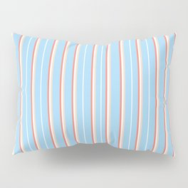 Blue Stripe Pattern Pillow Sham