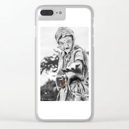 The begging leprous Clear iPhone Case