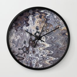 Puddles and Reflections Wall Clock