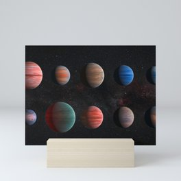 Planets : Hot Jupiter Exoplanets Mini Art Print