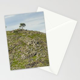 Trees on the hill Stationery Cards
