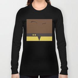 Tuvok - Star Trek Voyager VOY - Minimalist startrek Trektangle Trektangles Maquis - Delta Quadrant Long Sleeve T-shirt