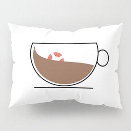 Coffee Wave Pillow Sham