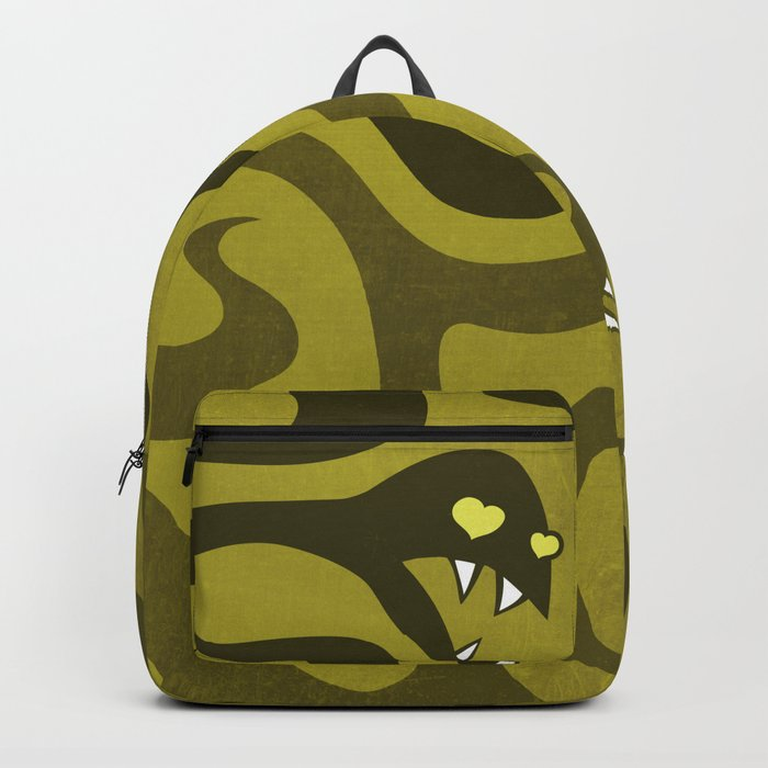 Funny Cartoon Evil Snakes Backpack