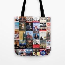 Donald Trump Books Tote Bag