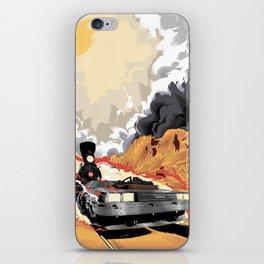 Back to the Future III (Three) iPhone Skin