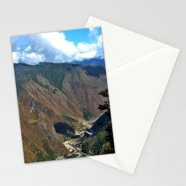 Lake at Mach Picchu Stationery Cards