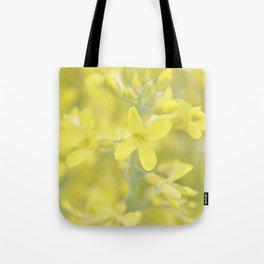 Flors grogues Tote Bag