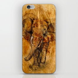 Elephant never forgets iPhone Skin