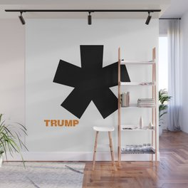 POTUS Trump. Impeached Forever. Wall Mural