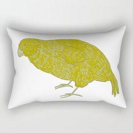 Kakapo Says Hello! Rectangular Pillow