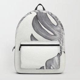 Monstera study I Backpack