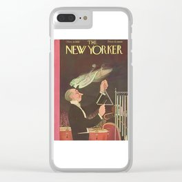 Vintage New Yorker Cover - Circa 1933 Clear iPhone Case
