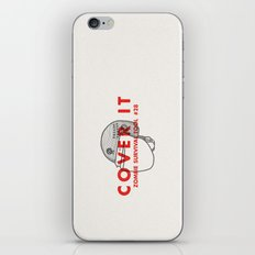 Cover it - Zombie Survival Tools iPhone & iPod Skin