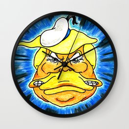 Quack President Wall Clock