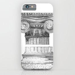 Ionic Capital - Pencil iPhone Case
