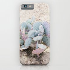 Pink and Mint Cactus Slim Case iPhone 6s
