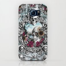 In the mirror.  Slim Case Galaxy S6