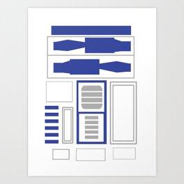 Artoo-Detoo Art Print