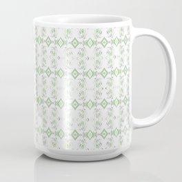 Micro Tiki Polynesian Inspired Pattern Coffee Mug