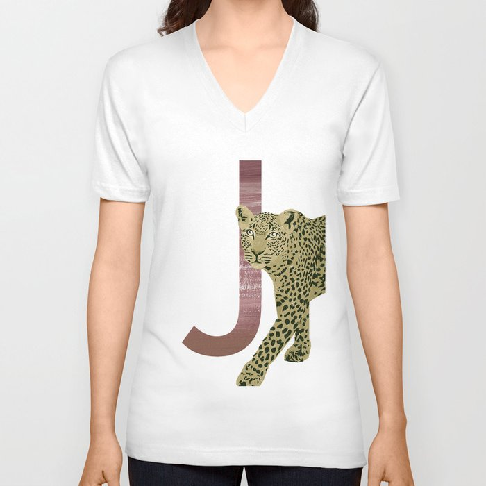 J - Jaguar Unisex V-Neck