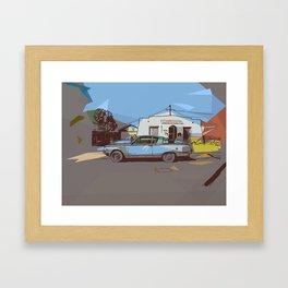 Ramona St. v2 Framed Art Print
