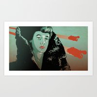 Rachael - Blade Runner Art Print